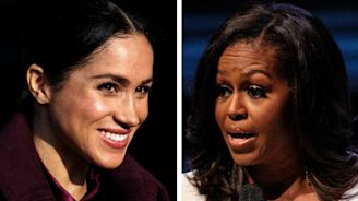 Duchess of Sussex meets Michelle Obama after hearing her speak on women, race and royal protocol