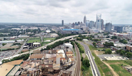 Rezoning plan detailed for foundry land near stadium, but some on council remain wary