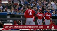 Reds slugger Joey Votto hits home runs in 7 straight games