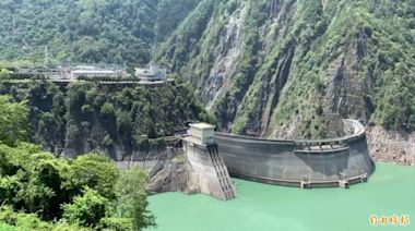 德基水庫再進帳88萬噸 水位小升0.39公尺