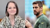 Jodie Foster explains her shout-out to Aaron Rodgers during her Globes acceptance speech: 'We'll see who wins'