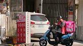 無法可罰!外送員送餐途中用車架滑手機好危險 議員揭法規漏洞 | 蘋果新聞網 | 蘋果日報