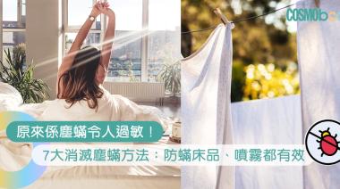 被塵蟎咬會有過敏徵狀?7大消滅塵蟎方法:消委會教你防塵蟎 | Cosmopolitan HK