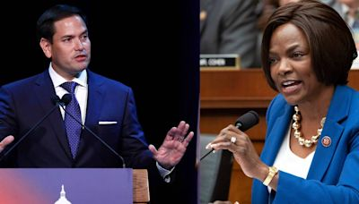 A strong Black woman challenging him, Marco Rubio claims that identity politics are Marxism   Opinion