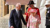 Bidens meet Queen Elizabeth for tea at Windsor Castle