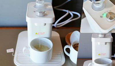 三秒供給熱水不是夢,輕按壓、三秒高達90度熱水馬上沖泡供給 X 禾聯 迷你瞬熱式開飲機 - SayDigi | 點子生活