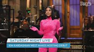 Watch Highlights from Kim Kardashian's SNL Hosting Debut, from Kris and Khloé Cameos to SKIMS for Dogs