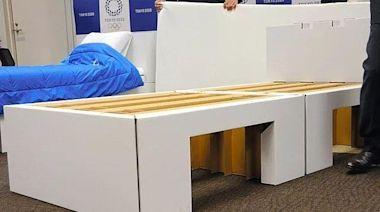 15萬個保險套只能看不能用!東奧用「紙床」防止選手互相連結