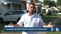 USGS: 2.6 magnitude earthquake reported in Woodlawn