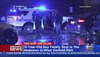 13-Year-Old Boy Fatally Shot In Stomach In West Garfield Park