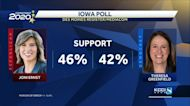 Latest Iowa Poll has Joni Ernst pulling ahead of Greenfield by 4%