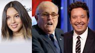 Olivia Rodrigo Teams Up with Biden, Rudy Giuliani's Drunk Call to Trump