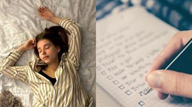老是睡不好?營養師教7招「助眠好習慣」 焦慮人第4招快學好