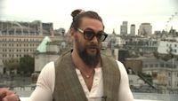 Jason Momoa takes on London and talks 'Dune'