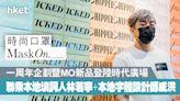 時尚口罩MaskOn._一周年企劃暨MO新品登陸時代廣場 聯乘本地填詞人林若寧+本地字體設計師威洪 - 香港經濟日報 - 地產站 - 地產新聞 - 商場活動
