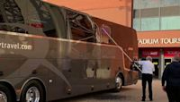 Real Madrid Team Bus Smashed in Liverpool Ahead of Match