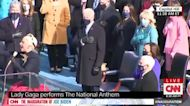 Lady Gaga Gives Powerful National Anthem Performance on Inauguration Day