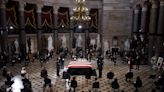 Justice Ginsburg becomes first woman to lie in state at the Capitol