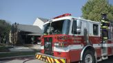 Fire destroys detached garage on city's south side; no injuries reported
