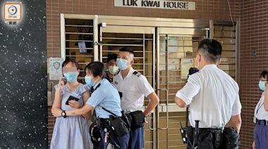 葵涌邨女子激動疑輕生 警員勸服送院無受傷