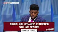 Emmanuel Acho: Patriots' Josh McDaniels is not satisfied with Cam Newton | SPEAK FOR YOURSELF