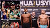 Joshua could be forced to vacate world title if he beats Usyk and fights Fury