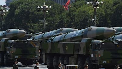 China's rocket forces have been practicing launching 'carrier killer' missiles in the dark during midnight drills