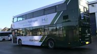 Scottish oil city tests world's first hydrogen double-decker buses