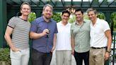 Neil Patrick Harris and David Burtka Host 'Mitchells vs. Machines' Team at Hamptons Home for Screening