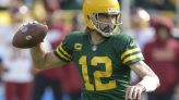 The Latest: Packers go up 21-7 on Washington early in 3rd