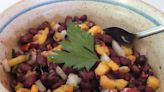 Farmer's Table: Black Bean Salad with Peaches and Pecans