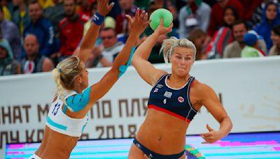 Norwegian women's beach handball team fined for refusing to wear bikinis