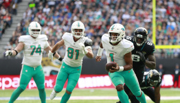 Tagovailoa 'not 100%' as Dolphins lose 5th consecutive game
