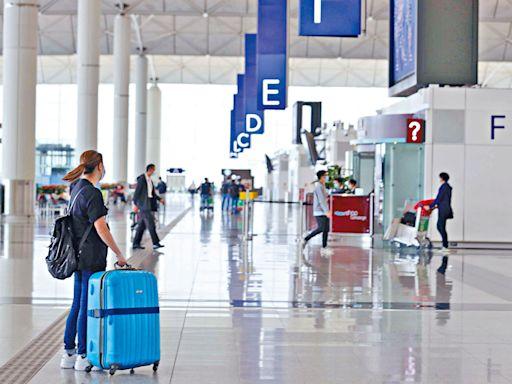 機場貨運上月升17.9% 客量增逾倍至22.7萬