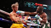 Logan Paul goes the distance with Floyd Mayweather in farcical exhibition bout