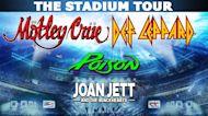 Motley Crue, Def Leppard, Poison, Joan Jett headed to Citizens Bank Park