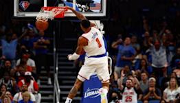 NBA Insider Ian Begley on Knicks big win in Orlando, play of Obi Toppin   SportsNite