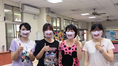嘉市大同國小特教班遠距教學 老師戴透明口罩引誤會
