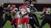 How the Chiefs shortened their passing game to protect Patrick Mahomes