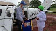 Rural Colombia gets help from above on testing