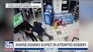 Marine Corps veteran disarms robbery suspect at Arizona gas station