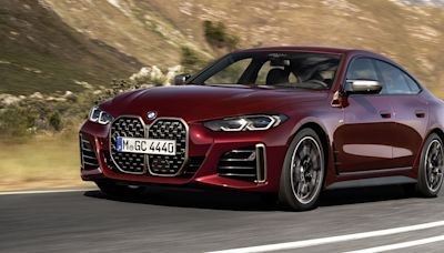 2022 BMW 4 Series Gran Coupe Gets the Gigantic Grille and Up to 382 HP