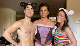 John Stamos Takes Darren Criss to Disneyland as a Wedding Gift — and Dresses Up as Rapunzel!