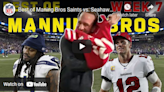 WATCH: Best of Peyton and Eli on 'Monday Night Football' in Week 7