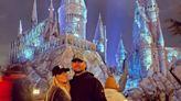 Christina Haack and Fiancé Josh Hall Have Date Night at Universal Studios Halloween Horror Nights