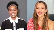 Gabrielle Union and Jessica Alba on Making TikToks On Set of 'L.A'.s Finest'
