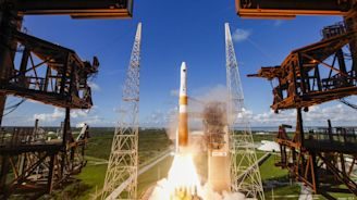 ULA rocket launches Lockheed Martin-built GPS satellite for the Air Force