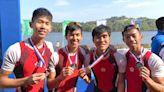【亞洲賽艇賽】港男隊輕量級四人雙槳摘銀牌