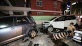 高雄轎車高速對撞 6車受損2人輕傷
