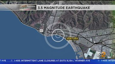 Small Earthquake Shakes Ventura A Second Day In A Row